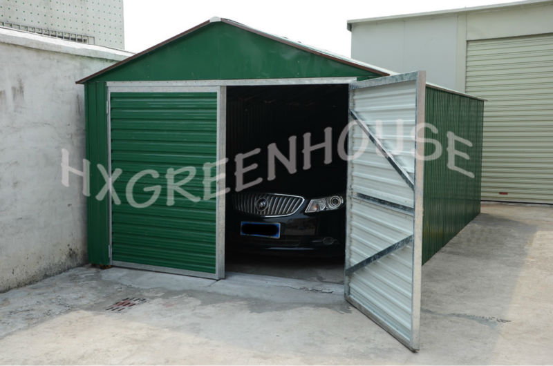 stable structure used garage with double doors for sale