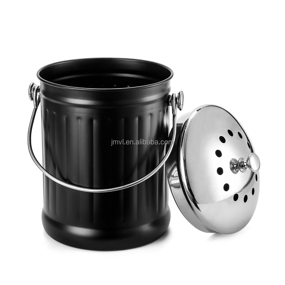1,2 liter roestvrij staal aanrecht keuken gratis geurabsorberende ...