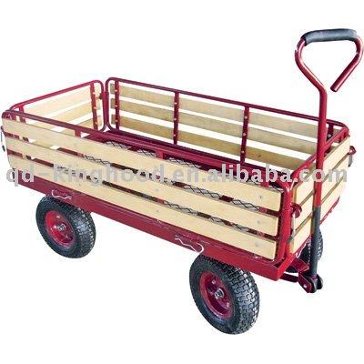 Wood Sided Yard Cart,Garden Trolley   Buy Wood Sided Yard Cart,Garden  Trolley,Garden Wagon Product On Alibaba.com