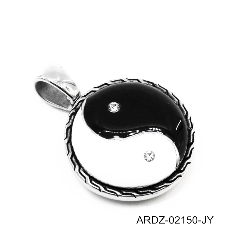 fashion jewelry 2017 hot sale men's yin yang pendant