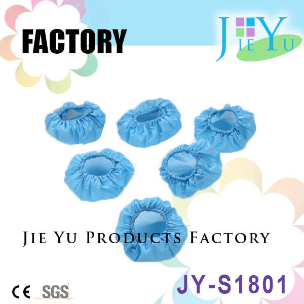 Disposable protective PE ear cover for spa beauty hair salon