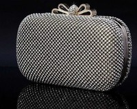 New models Diamond Evening party italian shoes with matching bags Nice ladies box Evening clutch bags