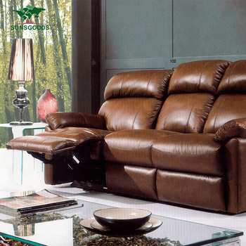 New Design Recliner Chesterfield Sofa Genuine Leather,Chesterfield ...
