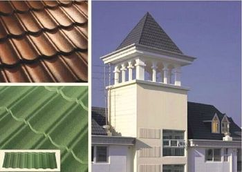 Kerala Ceramic Stone Coated Clay Roof Tile Price Chinses