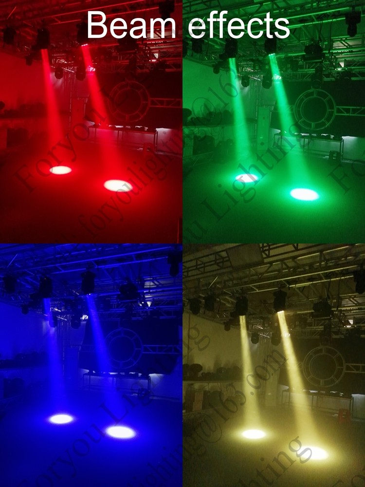 Pro Stage Disco DJ 3x40Watt 3x40 3*40W RGBW 4 IN 1 Wash Zoom Light Mini Hybrid 3pcs 40W LED Moving Head Beam