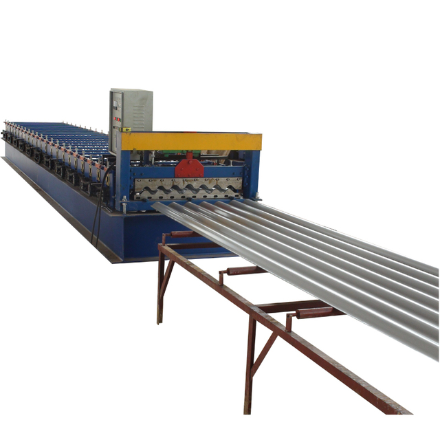 Building materical corrugated iron sheet making machine