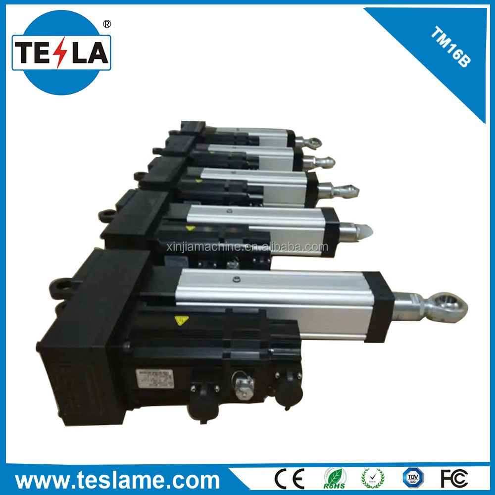 2017 230v ac linear actuator servo motor cylinder system Servo motor linear actuator
