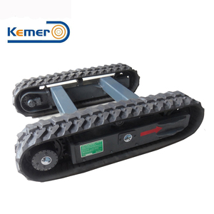 Construction Machinery Ningbo Factory supplied Hydraulic Rubber Track Chassis