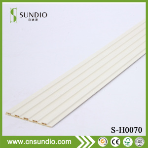 Sound Insulation PVC Wood Plastic Composite Partition Wall Board for Living Room