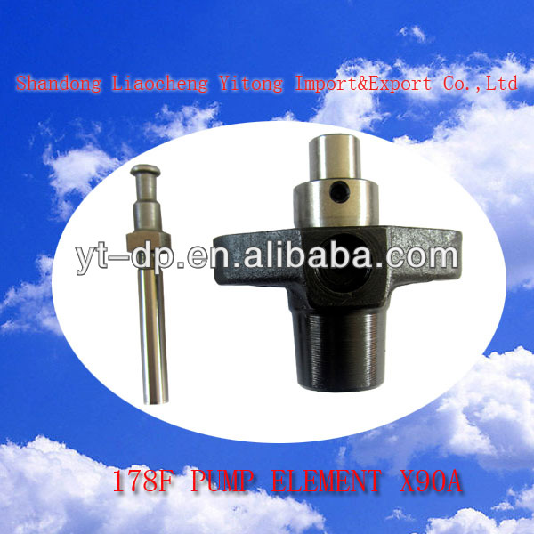 Fuel pump for yanmar engine with solenoid valve 178F engine