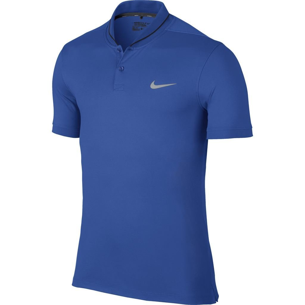 Nike 2016 Modern Fit Transition Dry Roll Mens Golf Polo Shirt