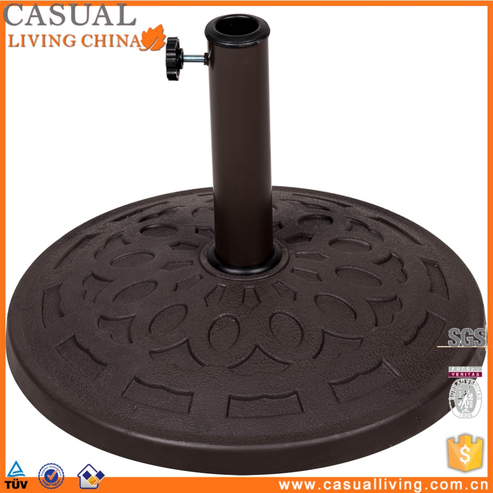 Outdoor Patio Resin umbrella parasol base