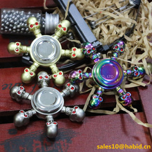Brass Relieve Stress Fidget Toys EDC with Metal Bearing Hand Spinner
