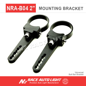 Adjustable bull bar Bracket Led Light Bar Adjustable Pipe Clamps Mounting Brackets