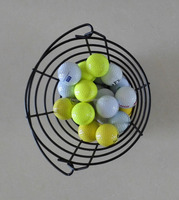 Metal Golf Ball Basket
