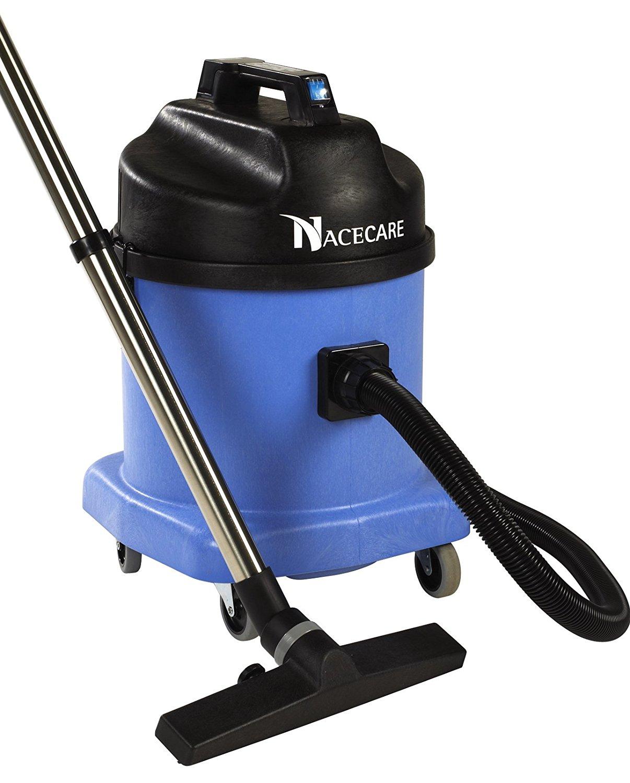 NaceCare WV570 Wet Vacuum with BB7 Kit, 6 Gallon Tank Capacity, 1200W Vacuum Motor, 1.6 HP