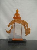 Customized buddha arts and crafts metal decor new products china supplier