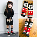 2pcs Toddler Baby Girl Kids Xmas minnie mouse High Knee Socks 0 6Y