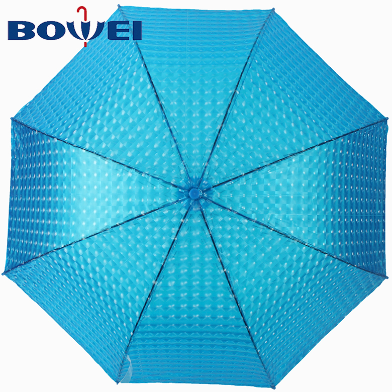 Factory direct price new style poe material auto open 3d umbrella