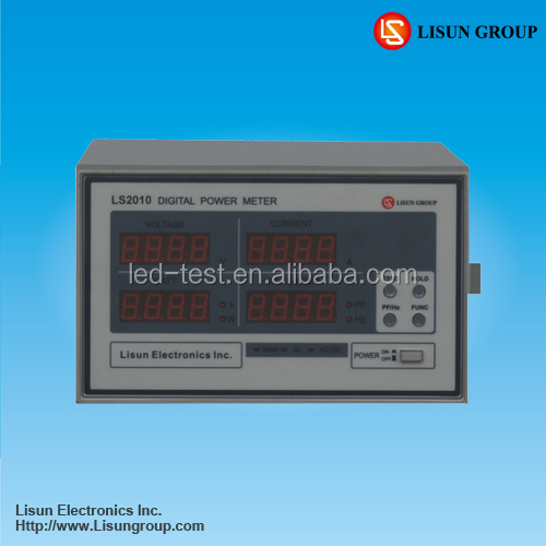 LS2010 Digital Ammeter and Voltmeter Measuring Voltage, Current, Power, Power Factor and Harmonic Parameters