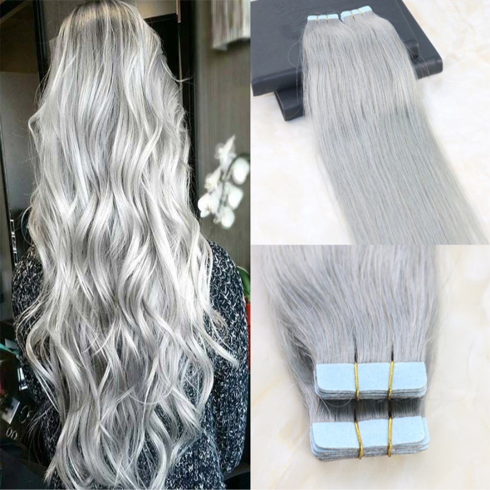 Buy 24 Grey Color Crochet Braid Hair Extensions Hair Braids Havana