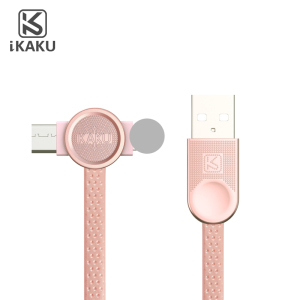 Creative small 2 way 24 pin usb extension 2in 1 data cable