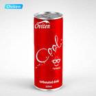 HACCP Cola Drink 325ml Factory Wholesale Carbonated Cola Soft Drink