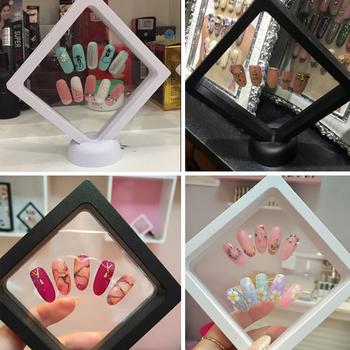 Beauty Salon Acrylic Nail Art Display Stand Holder Board