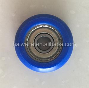 Anti-corrosion plastic coated bearings POM Nylon PU Plastic Coated 608  Bearing