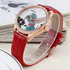 W40012 WEIQIN Beautiful women watch leather bracelet custom made watches wholesale