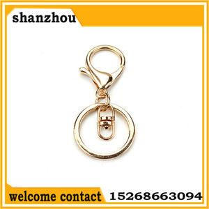 Bronze rhodium gold lobster Clasp Clips Key Hook Keychain