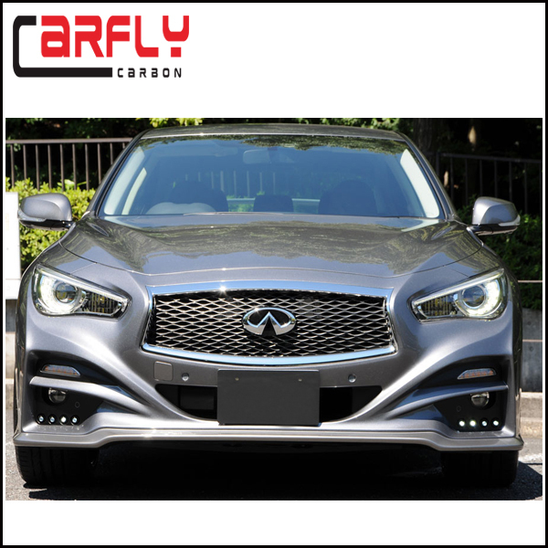 new arrival carbon fiber fiberglass front bumper for infiniti q50 body kits 2014 up buy for. Black Bedroom Furniture Sets. Home Design Ideas
