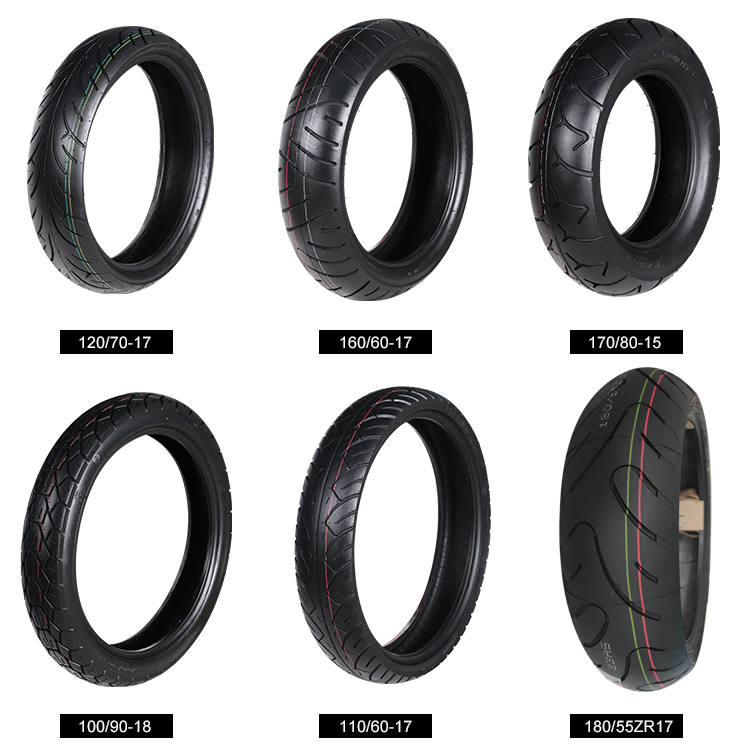 CCC Certification 130/60 x 13 Natrual Rubber Motorcycle Tubeless Tires 130/60-13 , Tyres 130 60 13