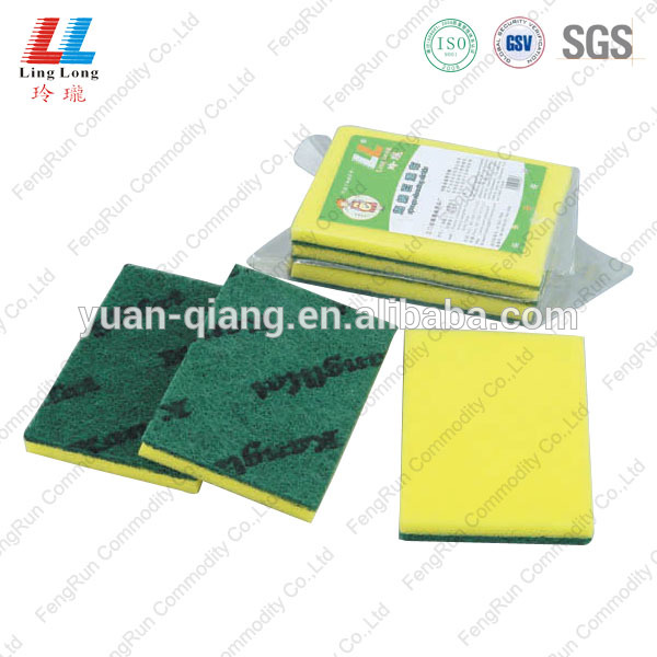 scouring sponge compressed expanding sponge abrasive cleaning scouring pad kitchen item