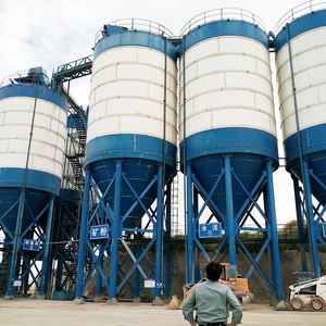 Maize corn grain storage bolted type coal silo cost