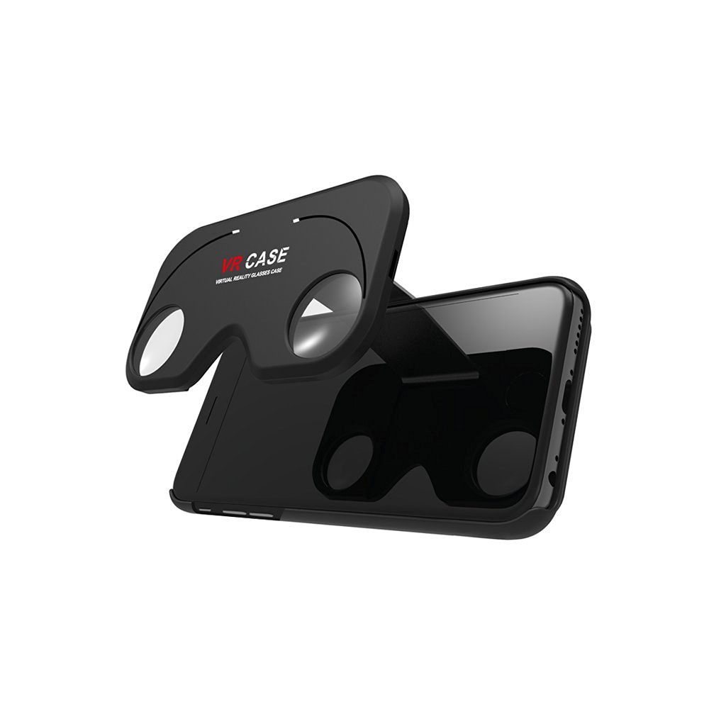 """Yoyogo 3D VR Glasses Cell Phone Case Virtual Reality Anti-Shock 3D Movies Games Mobile Phone Cover for iPhone 6 6S 4.7"""""""