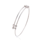 51449 Xuping alloy latest design charm bangles ,adjustable expandable bangle ,adjustable wire bangle bracelet wholesale