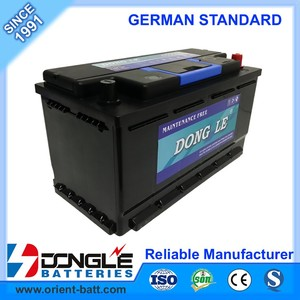Professional Manufacturing German Standard SMF DIN95 Car Battery