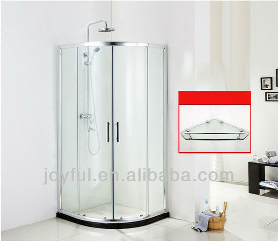 High Quality Tempered Glass Shower Stall