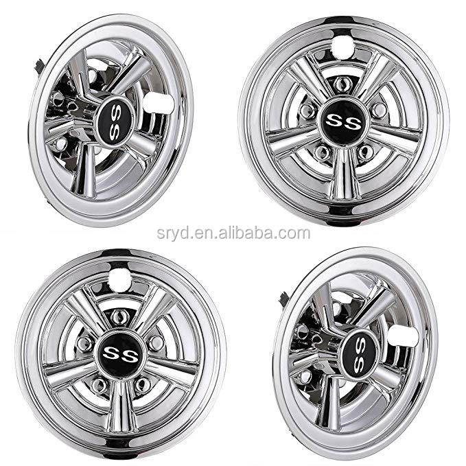 8 inch Golf Cart Hub Caps  Spoke Wheel Hub Cover
