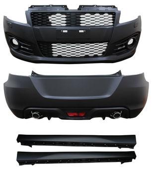 Auto Tuning Car Body Kit 2012 Sport Type Front Bumper+rear Bumper+side  Skirt For Suzuki Swift - Buy Body Kits For Japanese Car,Car Body Kits For
