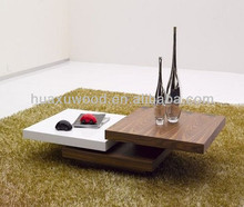 HX131213-MZ335 melamine laminate low occasional coffee table