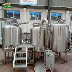 600L electric/steam craft fruit beer brewing equipment cost