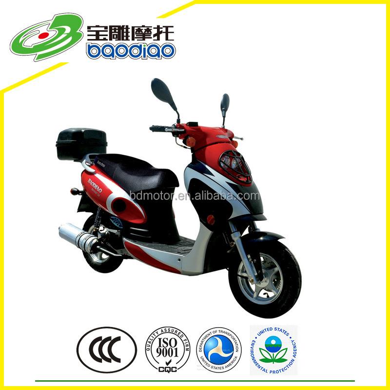 New 50cc Motos Moped Street Bike Chinese Cheap 4 Stroke Engine Gas ...