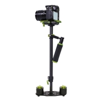 YELANGU S60T 38.5-61cm Carbon Fiber Handheld Stabilizer Steadicam for DSLR & DV Digital Video & Cameras Capacity Range 0.5-3kg
