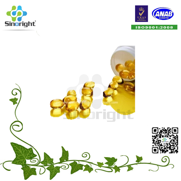 High quality pure anchovy fish oil omega 3 EPA/DHA soft capsule nootropic capsule