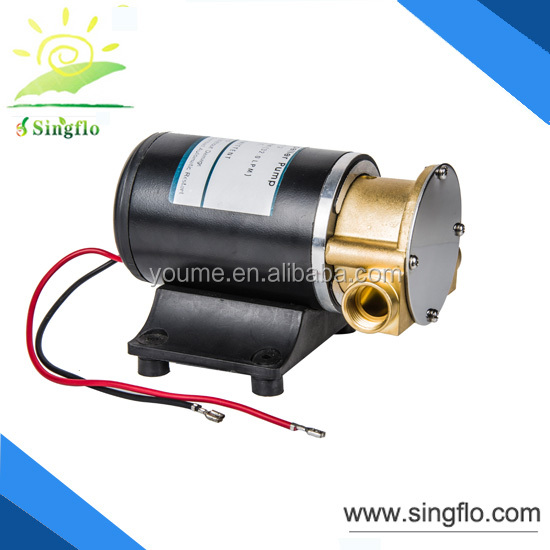 SIngflo 12DC hydraulic gear pump / low pressure mini gear pump