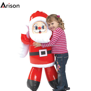 Inflatable christmas Santa Claus toy for decoration