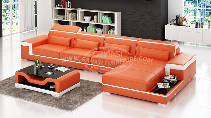 Decorating ideas leather sofas