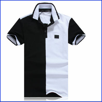 Two color polo shirts for One color t shirt